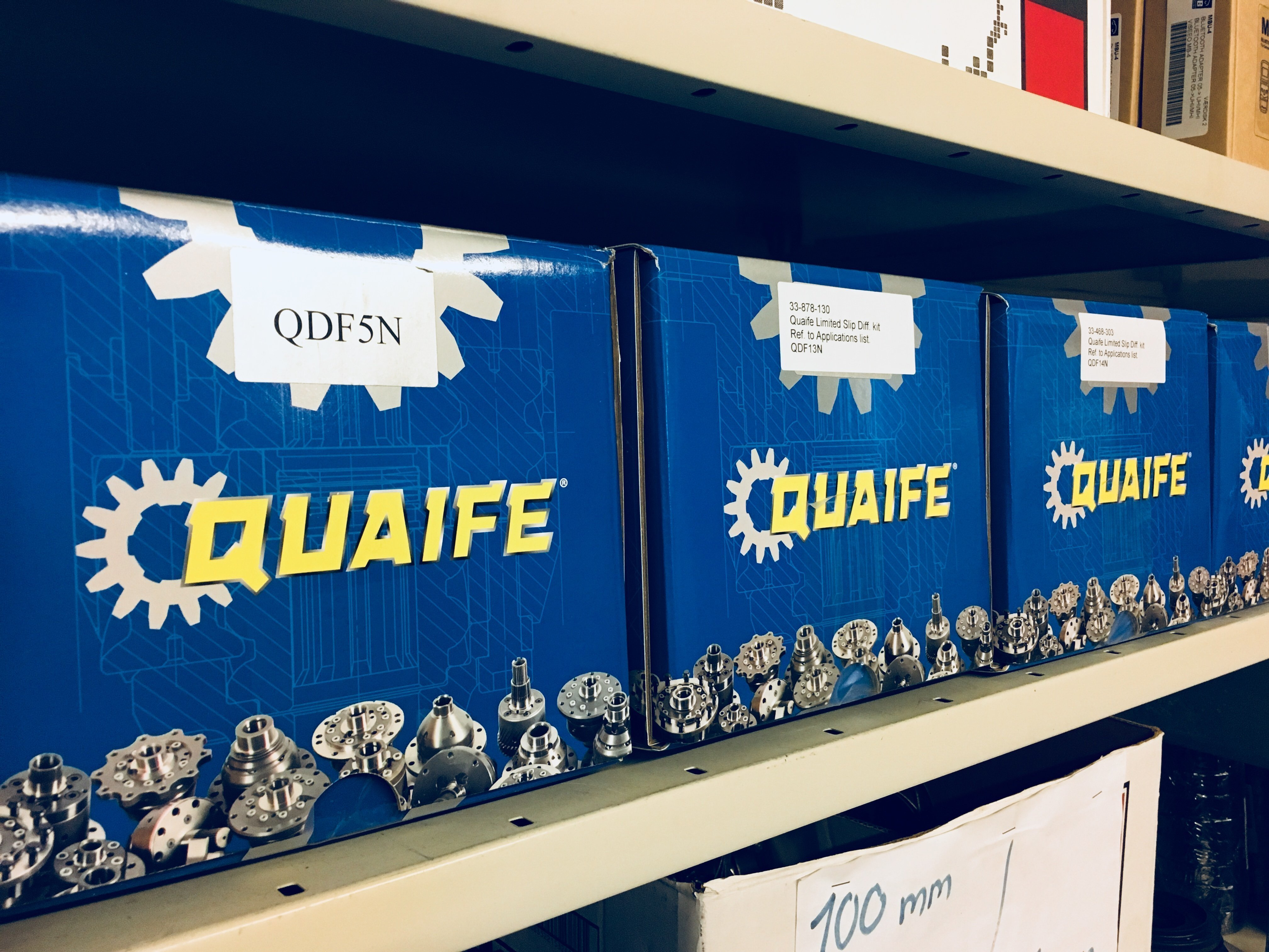 Weekie: Free oils with all Quaife differentials :: Race Fi