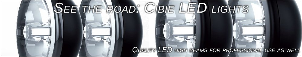 Cibie LED lights