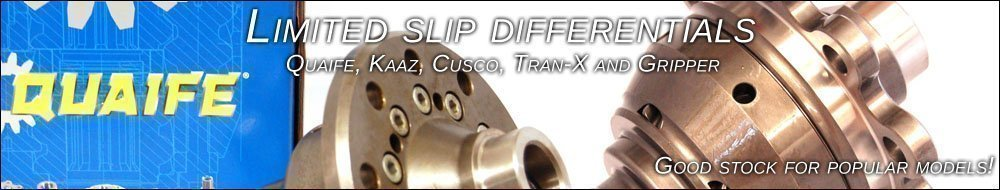 Limited Slip Differentials