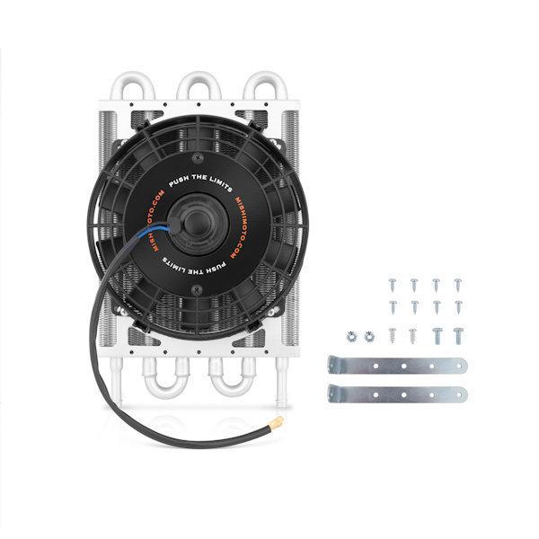 "Mishimoto Universal Transmission Fluid Cooler 15/"" x 7.5/"" x 0.75/"""