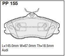 Front Brake Pads Brake Discs 276mm Vented Mercedes-Benz Vito 114 2.3 108 D 2.3