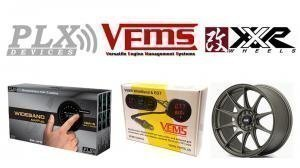Vems and PLX AFR gauges + XXR527 on the weekly special