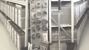 Shelves full of quality suspension