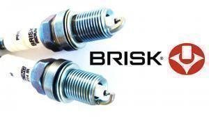 We just got a fresh batch of Brisk spark plugs