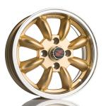 Barzetta Classic Rally Gold wheels