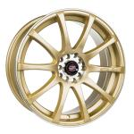Barzetta GTR Gold wheels