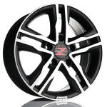 Barzetta Cavallo BlackPolish Pakettiautoihin wheels