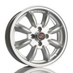 Barzetta Classic Rally Silver wheels