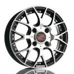Barzetta Piccolo BlackPolish Mopoautoihin wheels