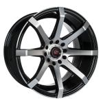 Barzetta Grottesco Black Polished wheels