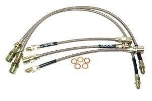 Black Diamond brake hoses clearance