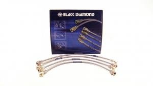 Black Diamond braided brake hoses