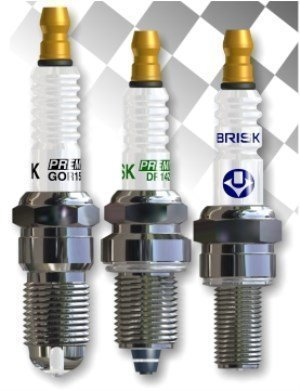 Brisk turbo (DS) spark plugs