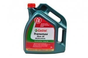 Castrol transmission and differential oils