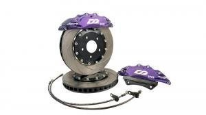 Much more braking power with D2 big brake kit!