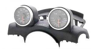 Gauge pod for 2 gauges Nissan 350Z Z33