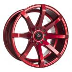 Barzetta Grottesco Candy Red wheels
