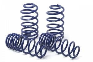 H&R lowering springs makes the car much sporty