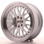 japan-racing_jr10167143067s.jpg Japan Racing JR10 16x7 ET30 4x100/108 Machined Sil
