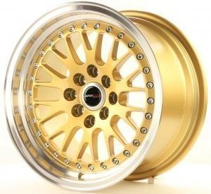 jr_jr10158041574gd Japan Racing JR10 15x8 ET15 4x100/114 Gold