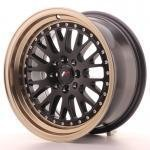 jr_jr10168142074bfzl Japan Racing JR10 16x8 ET20 4x100/108 Black+Bronze