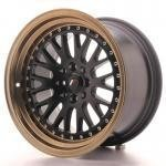 jr_jr10169142074bfzl Japan Racing JR10 16x9 ET20 4x100/108 Black+Bronze