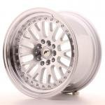 jr_jr10169041074s Japan Racing JR10 16x9 ET10 4x100/114 Machined Sil