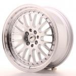 jr_jr10178142074s Japan Racing JR10 17x8 ET20 4x100/108 Machined Sil