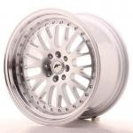 jr_jr10179042074s Japan Racing JR10 17x9 ET20 4x100/114 Machined Sil