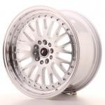 jr_jr101895xx4074s Japan Racing JR10 18x9,5 ET40 Blank Machined Silve