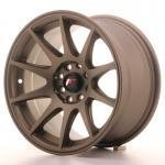 jr_jr11157143067mbz Japan Racing JR11 15x7 ET30 4x100/108 Matt Bronze