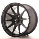 jr_jr111772mx3573bf Japan Racing JR11 17x7,25 ET35 5x100/108 Matt Blck