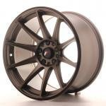 jr_jr111810xx2274dbz Japan Racing JR11 18x10,5 ET22 Blank Dark Bronze
