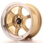 jr121575gd.jpg Japan Racing JR12 15x7,5 ET26 4x100/114 Gold