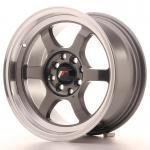 jr121575gm.jpg Japan Racing JR12 15x7,5 ET26 4x100/108 Gun Metal