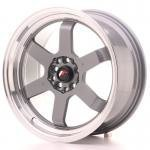 jr121780gm.jpg Japan Racing JR12 17x8 ET33 5x100/114 Gun Metal