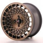 jr_jr141580xx2067bmbf Japan Racing JR14 15x8 ET20 Blank BlackBronzFinish