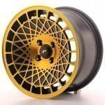 jr_jr141580xx2067bmgf Japan Racing JR14 15x8 ET20 Blank BlackGold Finish