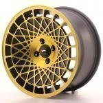 jr_jr14168042574bmgf Japan Racing JR14 16x8 ET25 4x100 BlackGold Finish