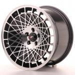 jr_jr14169052074bm Japan Racing JR14 16x9 ET20 5x100 Black Machined