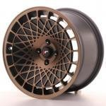 jr_jr141690xx1067bmbf Japan Racing JR14 16x9 ET10-20 Blank BlackBronzFinish