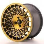 jr_jr14169041074bmgf Japan Racing JR14 16x9 ET10 4x100 BlackGold Finish