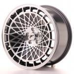 jr_jr1417855g1574bm Japan Racing JR14 17x8,5 ET15 5x100 Black Machined