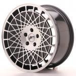 jr_jr1418855k4074bm Japan Racing JR14 18x8,5 ET35 5x100 Black Machined
