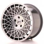 jr_jr1418955x2574bm Japan Racing JR14 18x9,5 ET25-40 5H Blank Black Machined