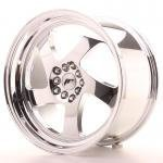 jr_jr151895xx3574vc Japan Racing JR15 18x9,5 ET35-40 Blank Vacum Chrome