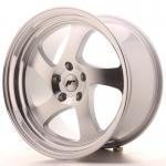 jr_jr1519105k3574s Japan Racing JR15 19x10 ET35 5x100 Silver Machined
