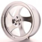 jr_jr1519855k3574s Japan Racing JR15 19x8,5 ET35 5x100 Silver Machine