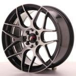 jr_jr18178043573gbm Japan Racing JR18 17x8 ET35 4x100/114 Black Machin