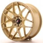 jr_jr1817805x3574gd Japan Racing JR18 17x8 ET35 5H Blank Gold